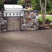National Hardscape manufacturer Belgard projects located in Tennessee and Carolina.